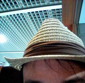 若ハゲ番長帽子