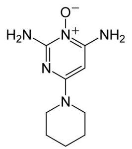 ミノキシジル構造式