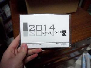 エスロッソ2014年カレンダー