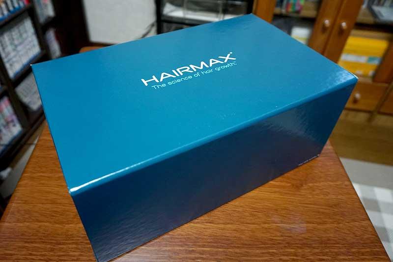 ヘアーマックス外箱