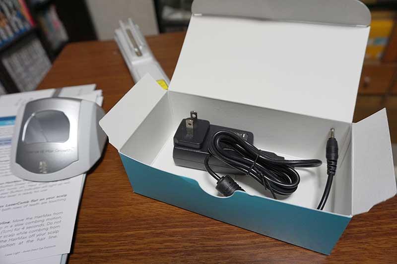 ヘアーマックス充電器